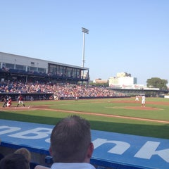 Photo taken at Modern Woodmen Park by Britt R. on 7/3/2012