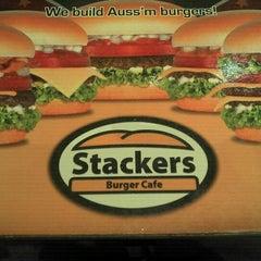 Photo taken at Stackers Burger Cafe by Alan M. on 9/9/2011