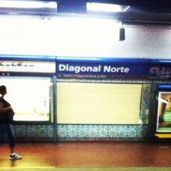 Photo taken at Estación Diagonal Norte [Línea C] by Marcelo Q. on 11/21/2011