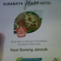 Photo taken at Hotel Plasa Surabaya by Triawan N. on 9/8/2011