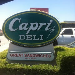 Photo taken at Capri Deli & Kitchen by Mikey L. on 7/20/2011