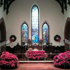 Photo taken at Trinity Episcopal Church by Alex D. on 1/23/2012