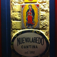 Photo taken at Nuevo Laredo Cantina by Laura P. on 10/19/2011