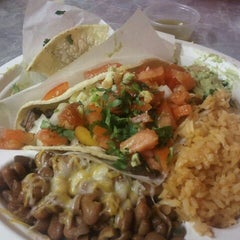 Photo taken at Malena's Tacos by Rebecca T. on 1/24/2012