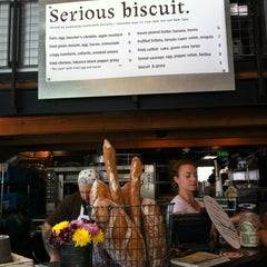 Photo taken at Serious Biscuit by Courtney C. on 6/10/2012
