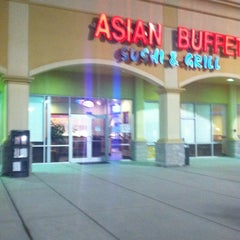 Photo taken at Asian Buffet Sushi And Grill by Anonymous on 11/16/2011