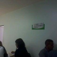 Photo taken at 5ª Vara do Trabalho de Manaus by Thiago B. on 9/12/2011