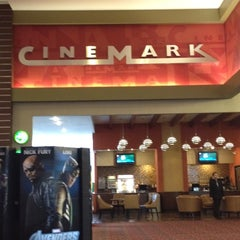 Photo taken at Cinemark by Manuel D. on 2/20/2012