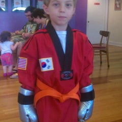 Photo taken at Lee's Traditional Tae Kwon Do by Frank P. on 3/3/2012