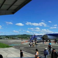 Photo taken at Aeropuerto Comandante FAP Guillermo del Castillo Paredes (TPP) by Martín C. on 6/10/2012