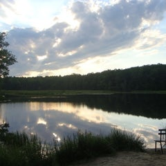 Photo taken at Pocahontas State Park by Kirsten on 8/21/2012