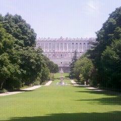 Photo taken at Campo del Moro by Livya K. on 7/25/2012