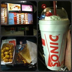 Photo taken at SONIC Drive In by Sasha M. on 4/28/2012