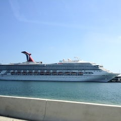 Photo taken at Port of Miami by Manuel P. on 8/2/2012