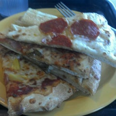 Photo taken at Cicis by Gnana S. on 6/9/2012