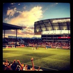 Photo taken at Rio Tinto Stadium by Mike S. on 7/28/2012