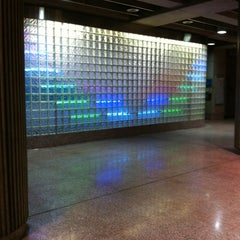 Photo taken at Port Authority Steel Plaza Station by Bridget B. on 3/21/2012