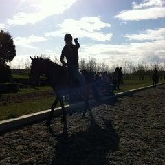 Photo taken at Trainingsstal Alice Naber by Lia V. on 4/7/2012