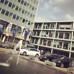 Photo taken at Daimler Konzernzentrale by Farad A. on 9/11/2012
