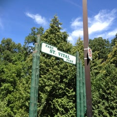 Photo taken at St. Vital Park by Lannah E. on 8/6/2012