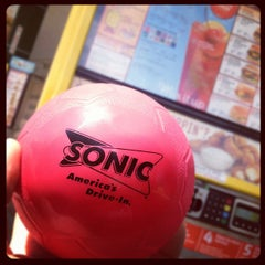 Photo taken at Sonic Drive-In by Teddy W. on 4/17/2012