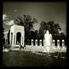Photo taken at World War II Memorial by Jason M. on 9/9/2012