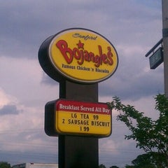 Photo taken at Bojangles' Famous Chicken 'n Biscuits by Linda F. on 3/29/2012
