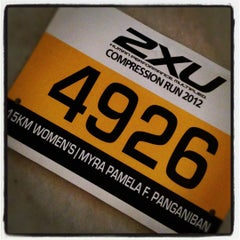 Photo taken at 2XU Compression Run 2012 by ilovemaiski on 3/31/2012