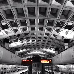 Photo taken at Farragut North Metro Station by TheIncident on 2/25/2012