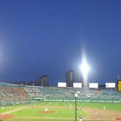 Photo taken at 사직야구장 (Sajik Baseball Stadium) by Sung Keun K. on 8/25/2012