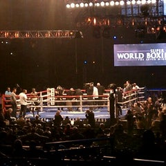 Photo taken at Boardwalk Hall by Cristina D. on 12/18/2011