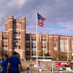 Photo taken at Elder High School by Clifford B. on 10/14/2011