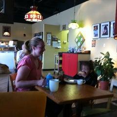Photo taken at Coffee Phix Café by Bonnie K. on 8/12/2011