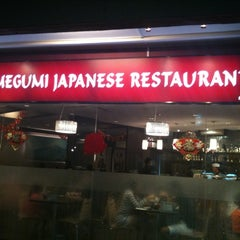 Photo taken at Megumi Japanese Restaurant by Victor C. on 2/11/2011