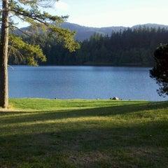 Photo taken at Lake Padden Park by Elizabeth R. on 9/29/2011
