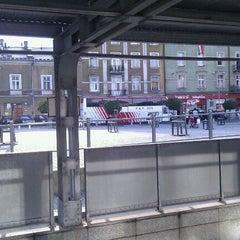Photo taken at Plac Bohaterów Getta by Jacek W. on 8/15/2011