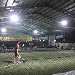 Photo taken at Grand Futsal Kuningan by Tri A. on 1/13/2012