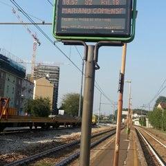 Photo taken at Stazione Bruzzano by Silvia M. on 9/11/2012