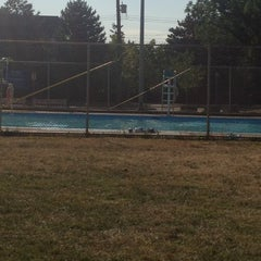 Photo taken at Victoria Park Public Pool by Alessandra F. on 7/11/2012