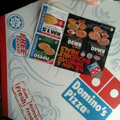 Photo taken at Domino's Pizza by aDaH D. on 5/4/2012