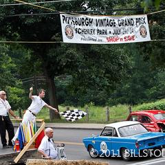 Photo taken at #PVGP Start Finish by Pittsburgh Vintage Grand Prix on 12/15/2011