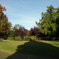 Photo taken at McKinley Park by Andrew K. on 11/21/2011