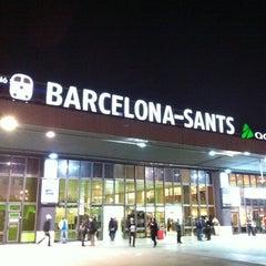 Photo taken at Sants Estació by José Luis P. on 12/28/2011