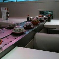 Photo taken at Pink Sushiman by Luis O. on 4/12/2012
