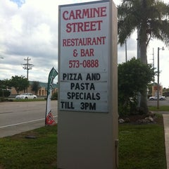 Photo taken at Carmine Street Restaurant & Bat by Ginger D. on 10/23/2011