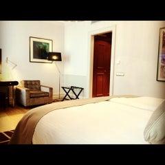 Photo taken at The Mark Luxury Hotel Prague by Abdullah H. on 5/28/2012