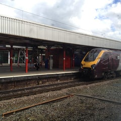 Photo taken at Stockport Railway Station (SPT) by Khalid on 5/8/2012