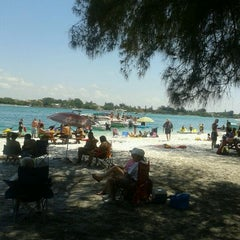 Photo taken at Ted Sperling Park at South Lido Beach by Tim E. on 4/1/2012