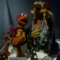 Photo taken at Jim Henson's Fantastic World exhibit by Alice on 1/28/2012