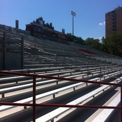 Photo taken at Nickerson Field by emma t. on 8/17/2011